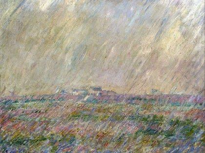 """""""La lluvia"""" (1886-1887) de Claude Monet"""