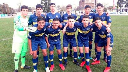 La Novena División de Boca estaba a cargo de Luis Lúquez (@caslajuveniles)