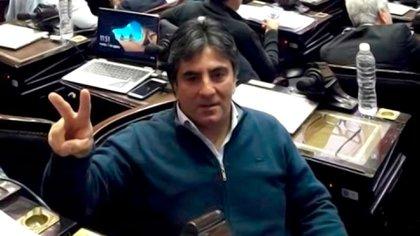 Juan Benedicto Vázquez (54) se vacunó el 6 de febrero con la primera dosis de la Sputnik V.