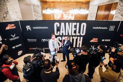 Saúl Canelo Álvarez enfrentará a Callum Smith, en San Antonio, Texas (Foto: Twitter@Canelo)