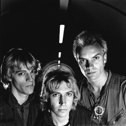 The Police: Stewart Copeland, Andy Summers y Sting