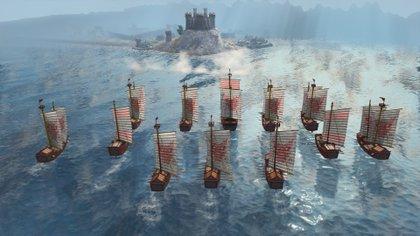 El combate naval dirá presente en Age of Empires IV, aunque no se anticiparon más detalles (Foto: Xbox)