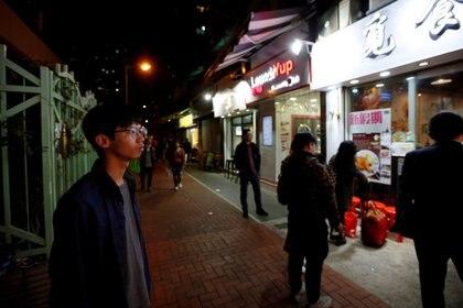 Tony Chung en Hong Kong. REUTERS/James Pomfret/File Photo