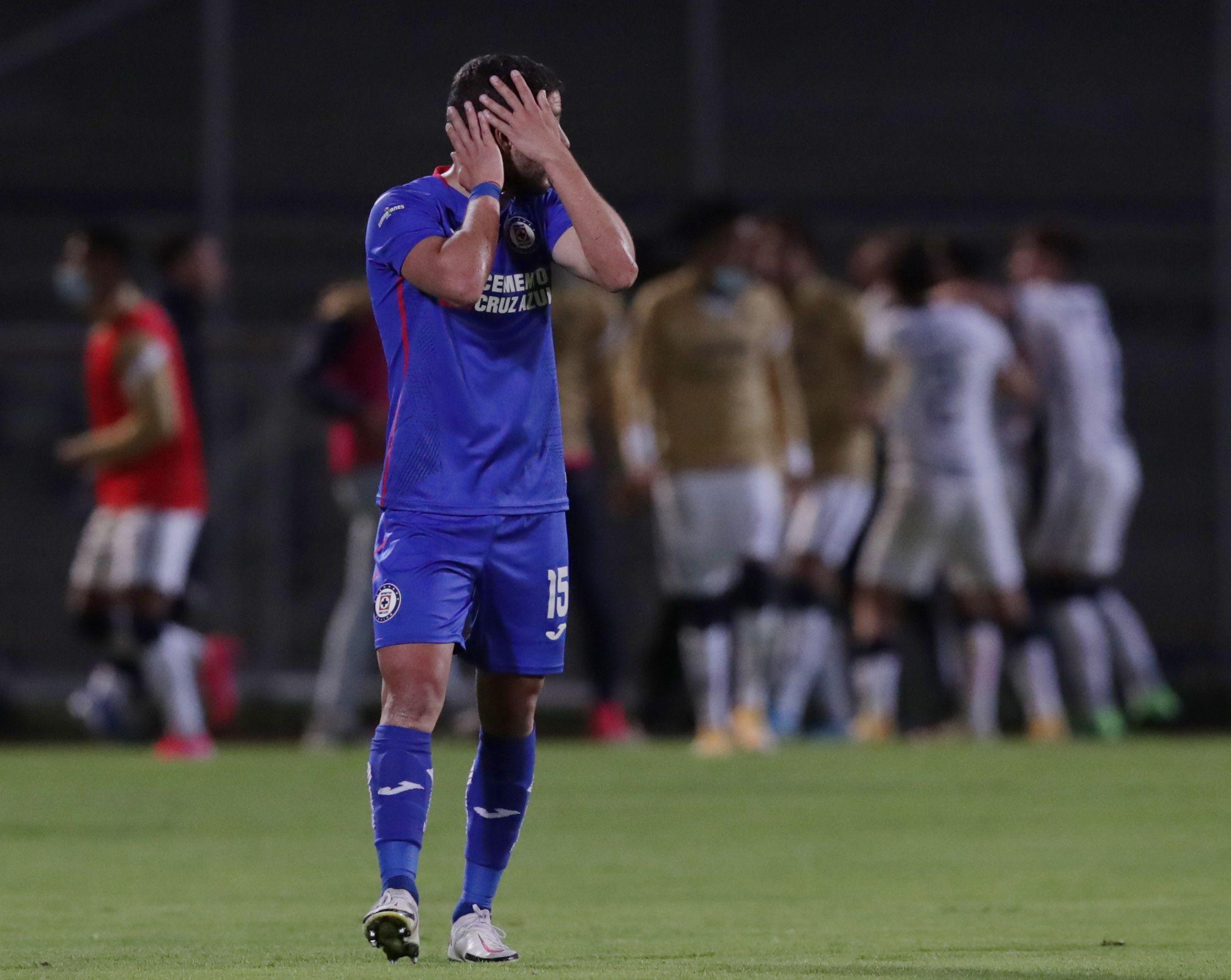 A pesar de tener una ventaja de cuatro goles en el partido de ida, los universitarios lograron la hombrada y empataron el marcador global (Foto: Henry romero/ Reuters)