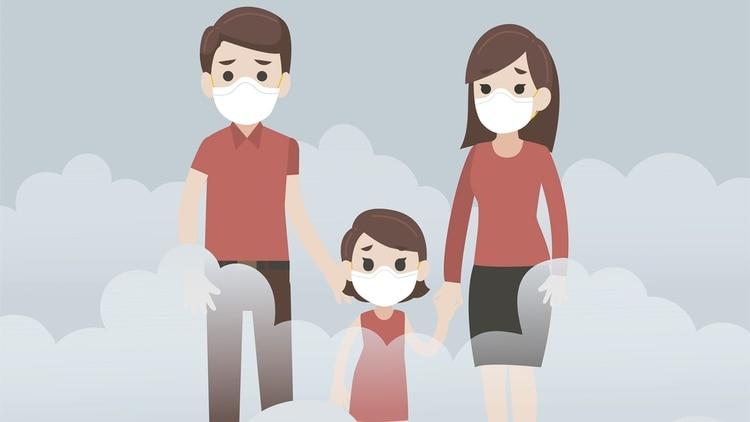 El adulto responsable debe transmitir calma al niño con CEA para afrontar una situación extraordinaria como lo es la pandemia (Shutterstock)