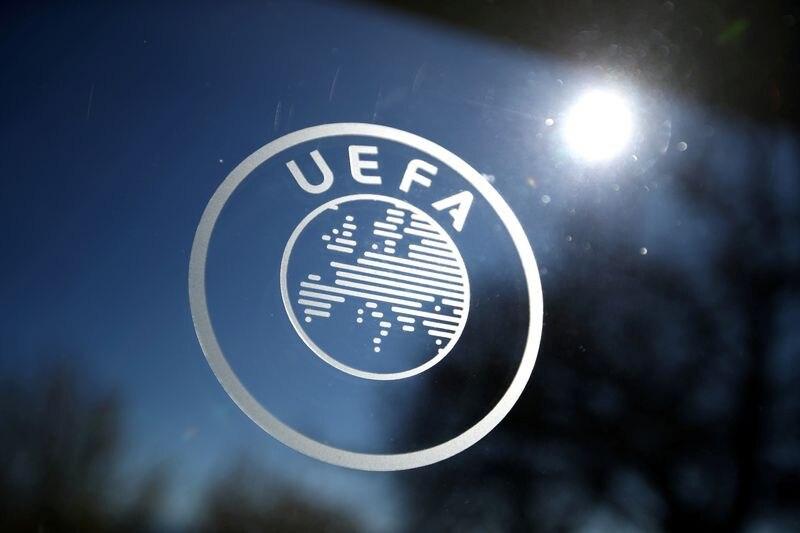 Foto archivo. Logo de la UEFA en Nyon, Suiza. 28 de febrero de 2020   REUTERS/Denis Balibouse/File Photo
