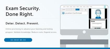 ProtoctorU, una de las soluciones digitales que ofrecen monitoreo durante la evaluación online.