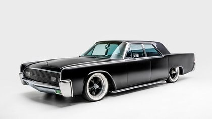 El Lincoln Continental, auto de lujo de los 60. (Museo Petersen)