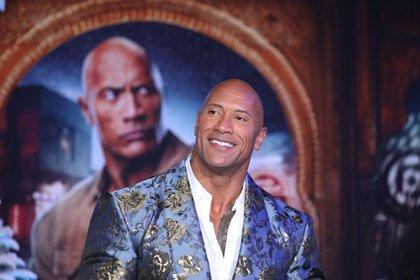 En la imagen, el actor Dwayne Johnson, conocido como 'The Rock'. EFE /DAVID SWANSON /Archivo