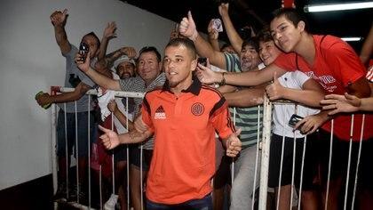 El Cabezón afirmó que no esperaba jugar tanto en River con Gallardo y tampoco sumar dos títulos (Nicolás Stulberg)