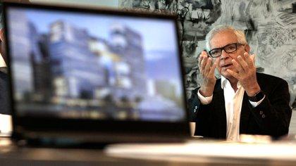 Eduardo Costantini anunció un nuevo proyecto de oficinas