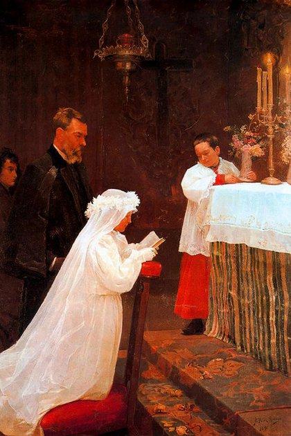La primera comunión (1896)
