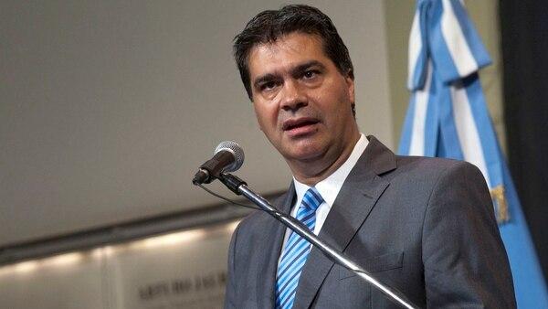 El ex jefe de Gabinete Jorge Capitanich
