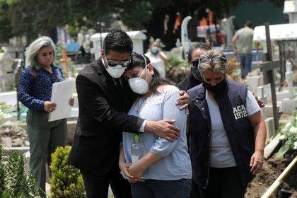 Recientemente México superó los 50,000 decesos por coronavirus (Foto; REUTERS/Henry Romero)