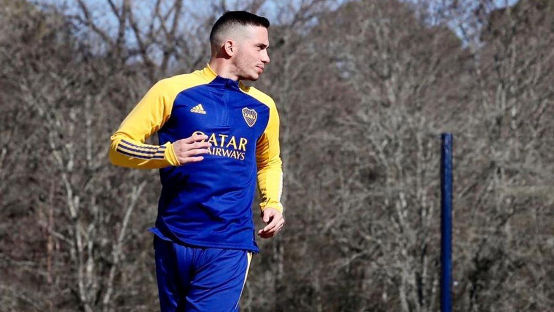 Iván Marcone Boca entrenamiento