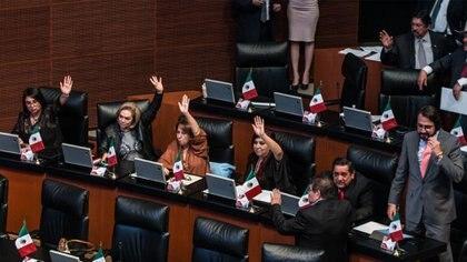 La mayoría de la Cámara Alta ve con buenos ojos legislar para poder realizar sesiones de manera remota (Foto: Cuartoscuro)