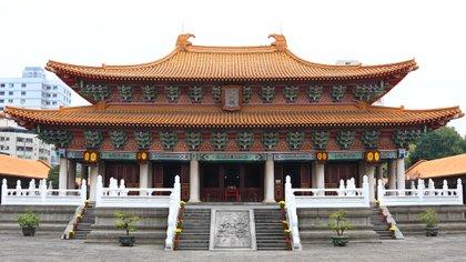 El Templo de Confucio en Qufu, China