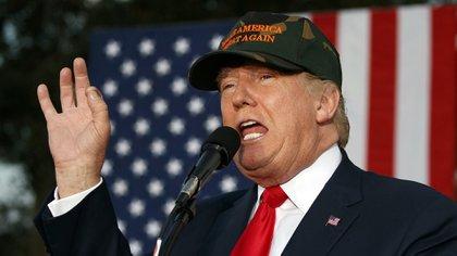 Donald Trump representó al americano medio apegado a la tierra, la cerveza, Dios y las armas (AP)