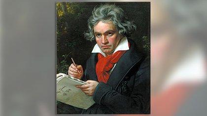 El famoso retrato de Beethoven realizado en 1820 por Joseph Karl Stieler