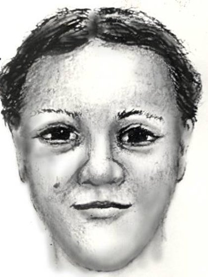 Un dibujo de la policía de Washington que muestra a Latoya, la mujer que secuestró a April Williams (National Center for Missing & Exploited Children)