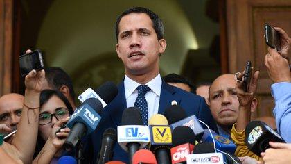 Juan Guaidó, presidente interino de Venezuela (AFP)