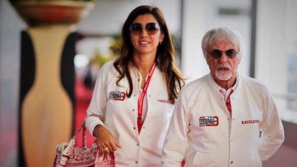 Bernie Ecclestone y Fabiana Flosi fueron padres de Ace