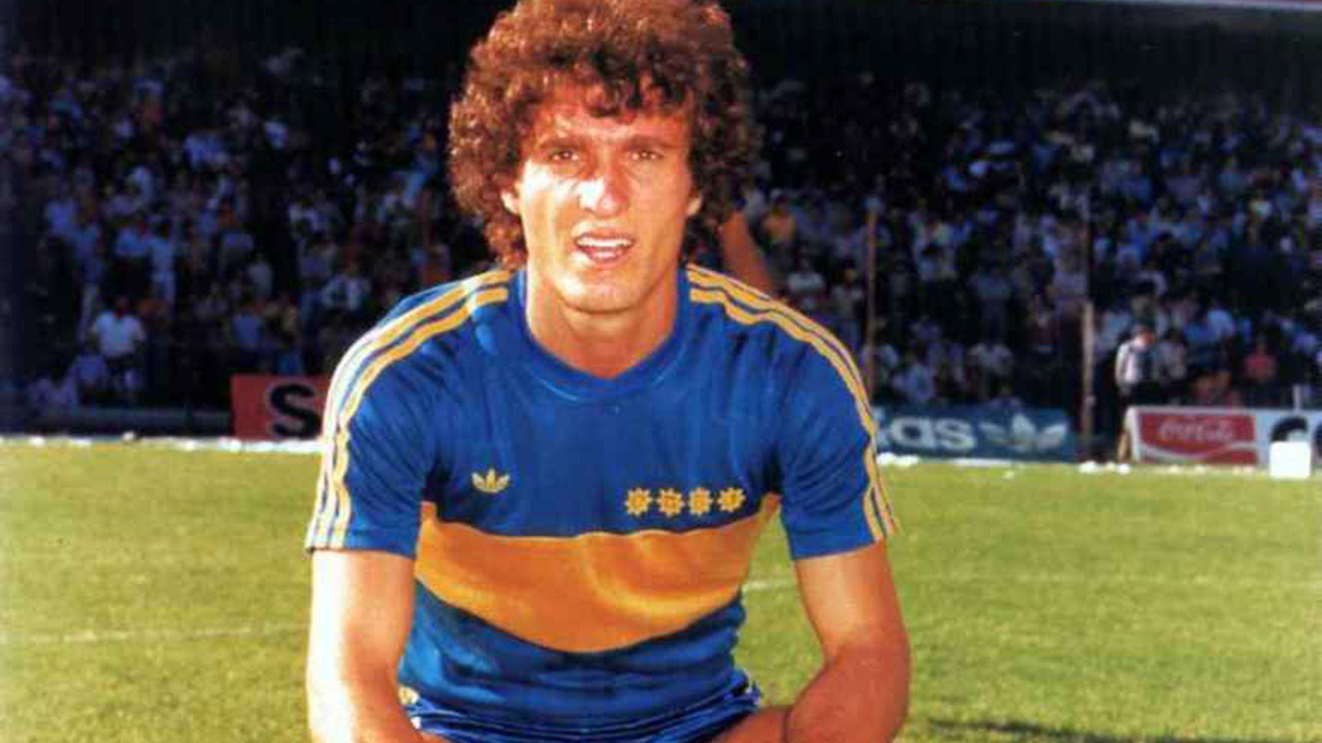 Oscar Ruggeri en Boca