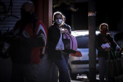 El 75% del país ya está en la fase 5 de la cuarentena. En el resto del territorio con el AMBA como centro neurálgico del virus se mantiene el aislamiento social, preventivo y obligatorio (EFE)