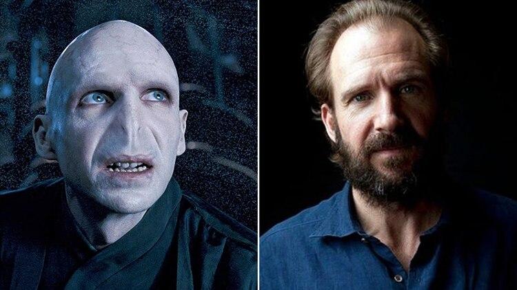 Ralph Fiennes como Voldemort