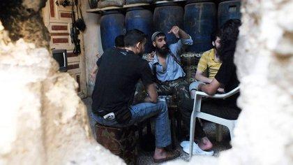 Un refugio contra las armas químicas del dictador Al Assad Reuters 163