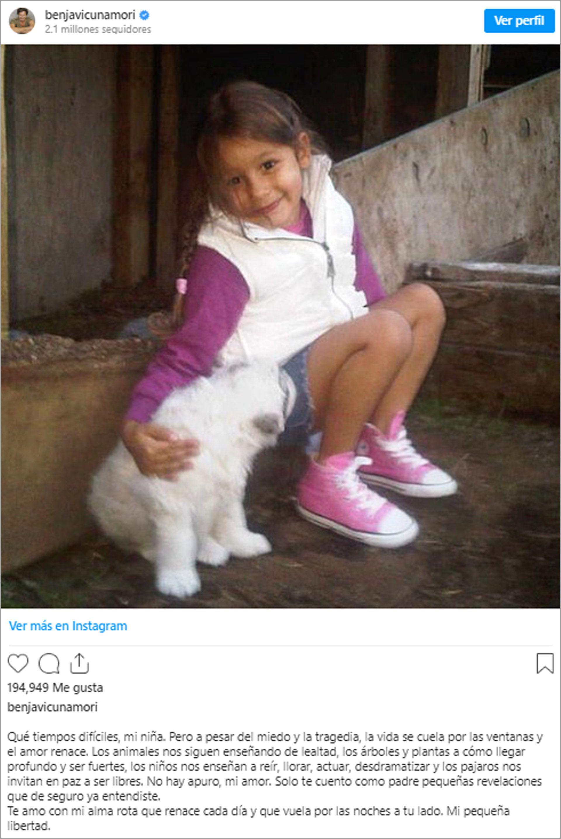 Blanca Benjamin Vicuña Instagram