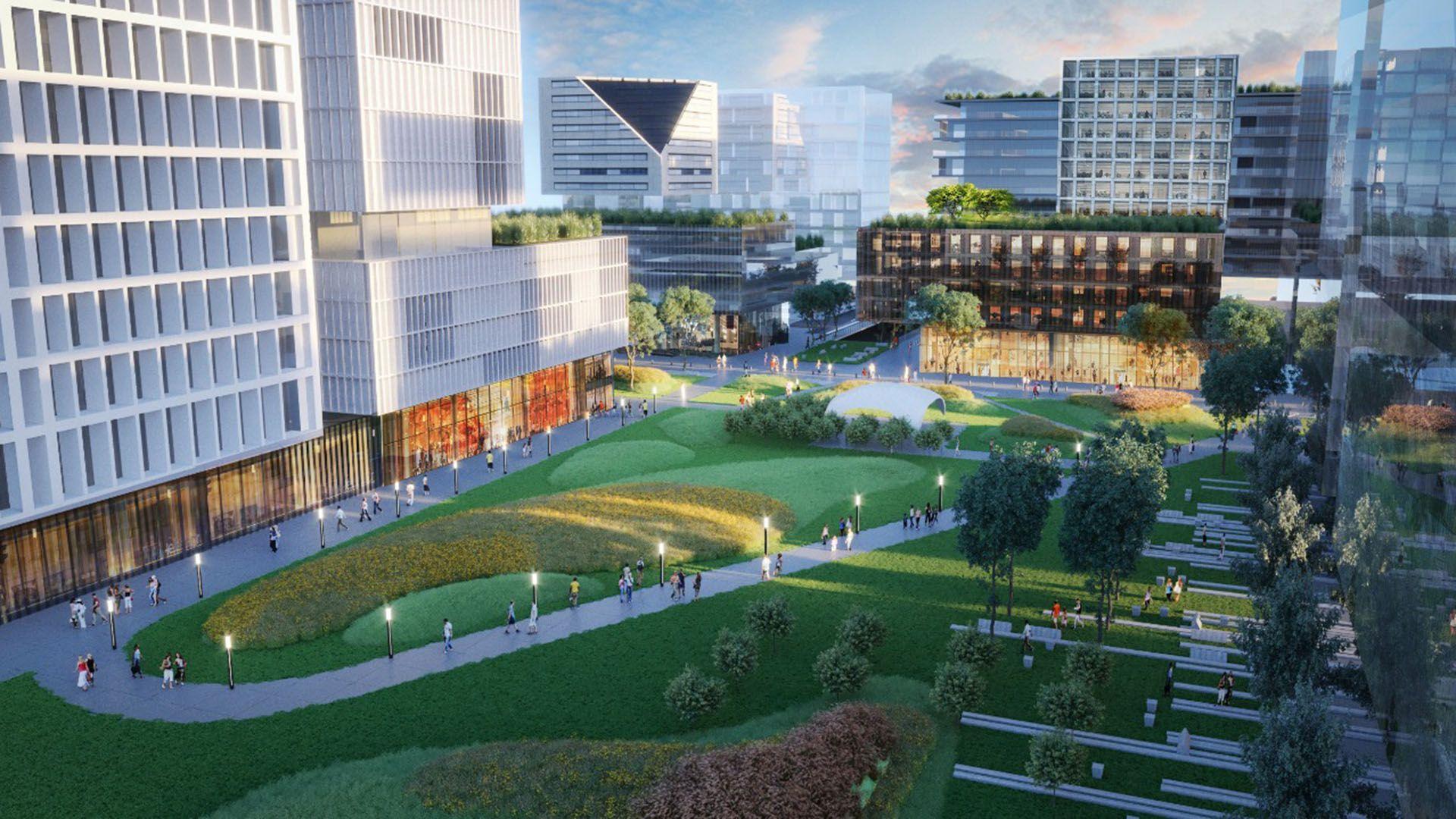 El proyecto del Parque de la Innovación que promueve el gobierno de la Ciudad de Buenos Aires, destinado a potenciar el desarrollo científico y tecnológico, en un predio de 16 hectáreas en Núñez