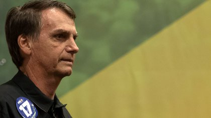 Jair Bolsonaro, favorito en las encuestas para ganar el ballotage presidencial en Brasil (AFP)