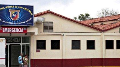 Al Hospital Militar de San Cristóbal fueron trasladados los tres militares que resultaron heridos
