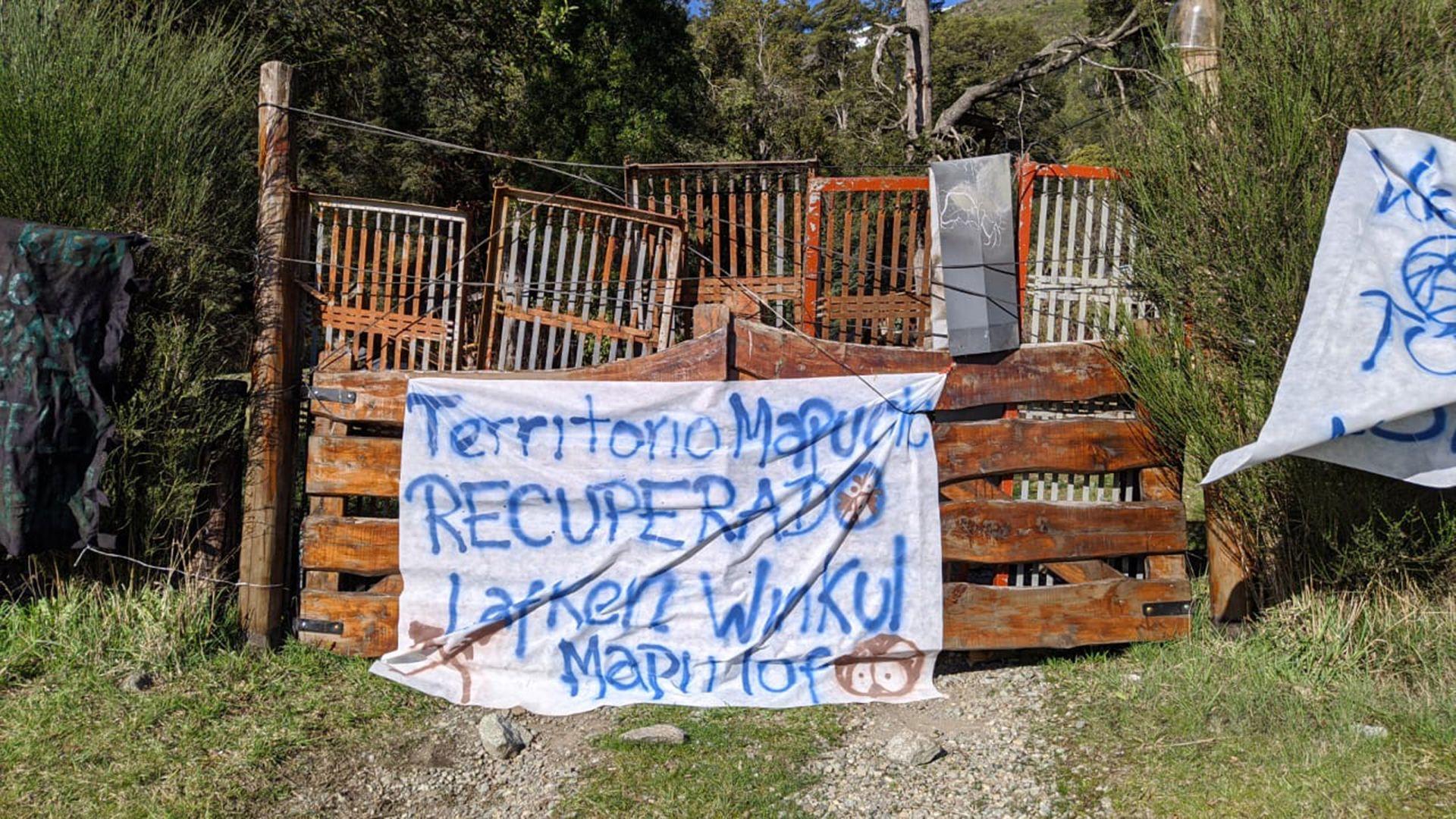Los destrozos de los mapuches en Villa Mascardi