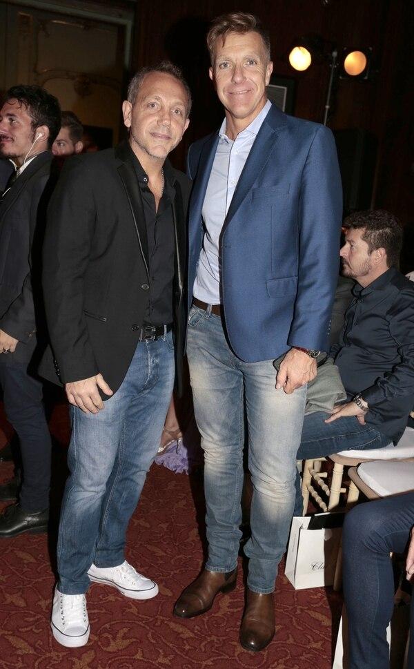 Guillermo Azar y Alejandro Fantino (Foto: Christian Bochichio)
