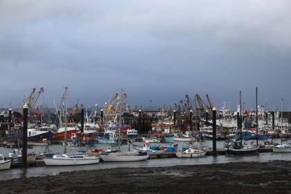 Vista general del puerto de Newlyn. REUTERS/Tom Nicholson