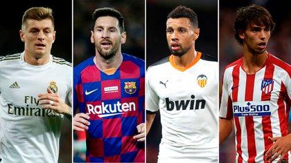 La Supercopa de España la jugarán el Real Madrid, el Barcelona, el Valencia y el Atlético Madrid