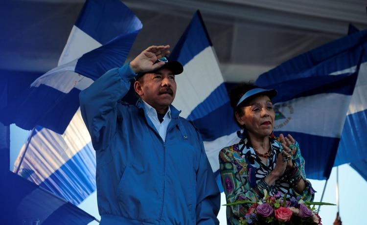 Daniel Ortega, presidente de Nicaragua desde 2007 (REUTERS/Oswaldo Rivas)