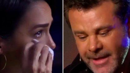 Biby Gaytán lloró al escuchar a su esposo recordar un amargo momento