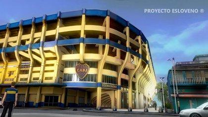 Una de las capturas del video que presentó Proyecto Esloveno