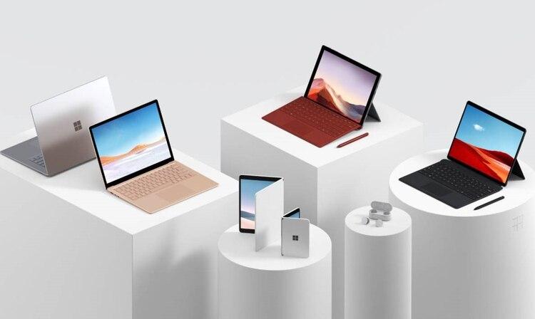 En su evento en Nueva York, Microsoft presentó nuevos modelos de computadoras portátiles, tabletas y celulares (Foto: Microsoft)