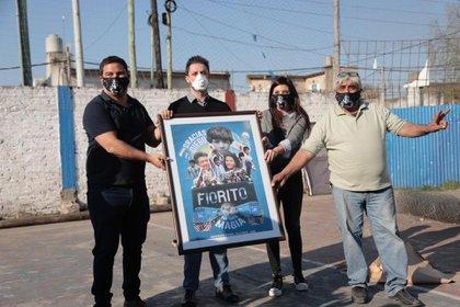 La cruzada de Maradona con la Cruz Roja ayudará a diez ciudades argentinas