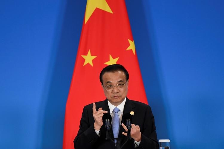 El gobierno chino que lidera Li Keqiang es uno de los principales accionista del FMI y no aceptará una reprogramación de los pagos del país si hubiera un default desordenado