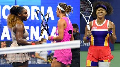 Victoria Azarenka eliminó a Serena Williams y disputará la final de US Open ante la japonesa Naomi Osaka (Con imágenes de Usa Today Sports y EFE)