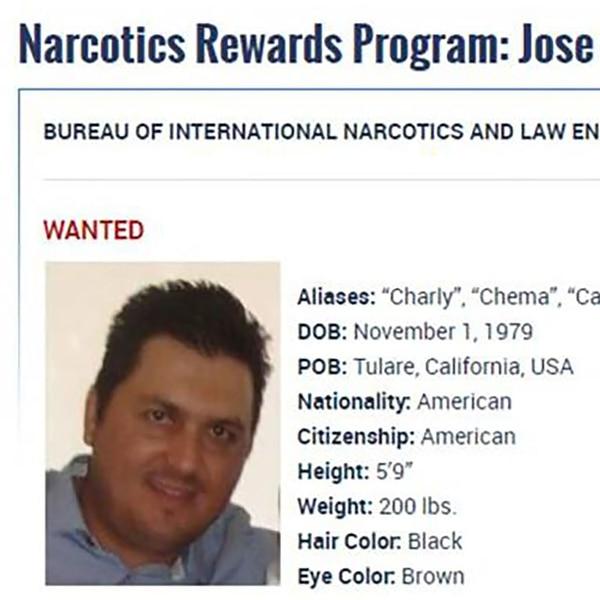 Jose María Guizar Valencia fue detenido la semana pasada