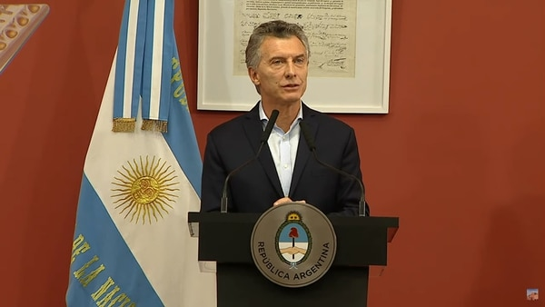 Mauricio Macri en el relanzamiento de Becas Progresar