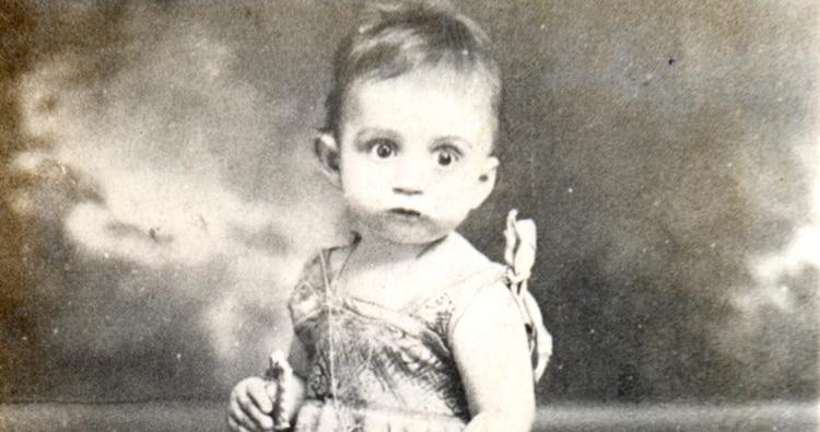 El pequeño Gabriel García Márquez. (Foto: Archivo Infobae)