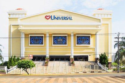 Un templo de la Iglesia Universal en Campo Grande, Mato Grosso del Sur (Shutterstock)