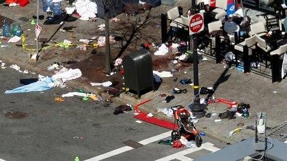 Ataque contra la maratón de Boston REUTERS/Jessica Rinaldi/File Photo